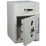 Chubbsafes Sovereign Deposit Safe Grade 5 Size 3 Front Facing