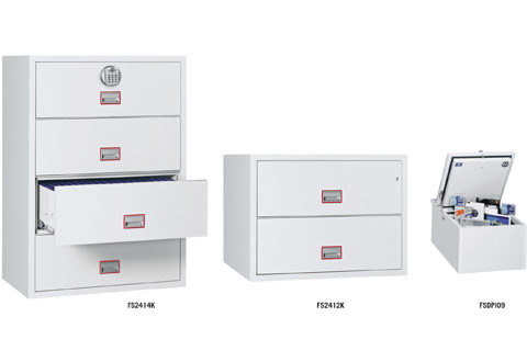 Phoenix World Class Lateral Fire File Fireproof Filing Cabinets