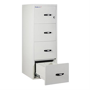 Chubbsafes FireFile 1hr 4 drawer 25 inch