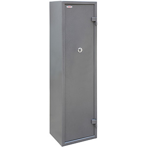 Phoenix Tucana GS8017K 7 Gun Safe with Internal Ammo Box and Key Lock