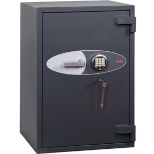 Phoenix Planet HS6073E Size 3 High Security Euro Grade 4 Safe with Electronic & Key Lock