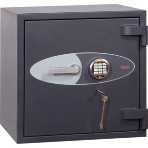 Phoenix Cosmos HS9071E Size 1 High Security Euro Grade 5 Safe with Electronic & Key Lock