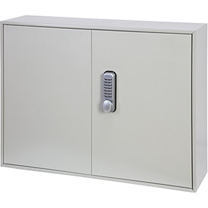 Phoenix Deep Plus & Padlock Key Cabinet KC0503M 50 Hook with Mechanical Combination Lock