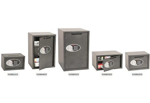 Phoenix Vela Deposit SS0800ED Home and Office Safes