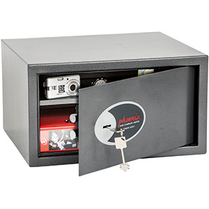 Phoenix Vela Home & Office SS0803K Size 3 Security Safe with Key Lock