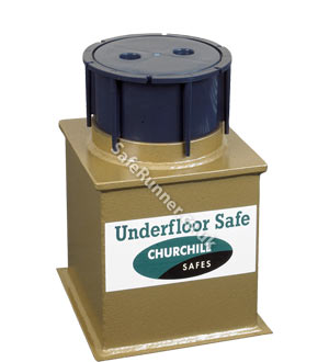 Churchill Domestic D2L Underfloor Safe