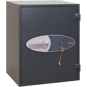 Phoenix Neptune HS1054K Size 4 High Security Euro Grade 1 Safe with Key Lock