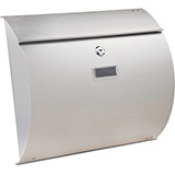 Burton Convex Stainless Post Box