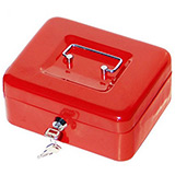 Phoenix 8 Inch Cash Box CB0101K with Key Lock