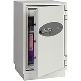 Phoenix Fire Fighter FS0443K Size 3 Fire Safe with Key Lock