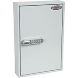 Phoenix Commercial Key Cabinet KC0602S 64 Hook with Electronic Lock & Push Shut Latch.