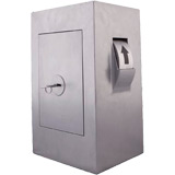 De Raat Protector Key Security Box KSB 002 - Wall Fixing Drum On Right - Key Lock