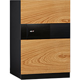 Phoenix Next LS7002FO Luxury Safe Size 2 (Oak) with Fingerprint Lock