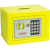 Phoenix Compact Home Office SS0721EYD Yellow Security Safe with Electronic Lock & Deposit Slot