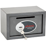 Phoenix Vela Deposit Home & Office SS0801KD Size 1 Security Safe with Key Lock