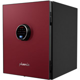 Phoenix Spectrum Plus LS6011FR Safe with Touchscreen Keypad and Fingerprint Lock - Burgundy