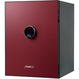 Phoenix Spectrum Plus LS6012FR Safe with Touchscreen Keypad and Fingerprint Lock - Burgundy